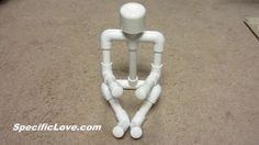 Picture of PVC Man - Book Tablet Holder Display