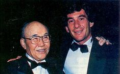 Soichiro Honda et Ayrton Senna Ferrari, Soichiro Honda, Surplus Militaire, Honda Motors, F1 Drivers, F 1, Formula 1, Champion, Racing