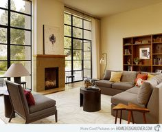 Natural Living Room Designs