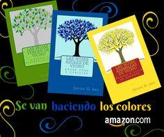 Hojas verdes, azules y amarillas de Vicho