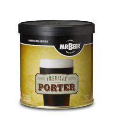 Mr. Beer American Porter Home Brewing Beer Refill Kit