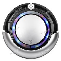 Mini Dust Cleaner w/ Mop Function and Two Strong Side Brushes Lower Noise Automatic Robotic Vacuum Cleaner HHE-196408