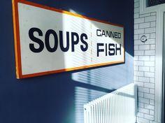 #kitchen #corner #vintage #signage #americana Kitchen Corner, Signage, Sweet Home, House Beautiful, Kitchen Nook, Billboard, Signs