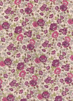 Felicite in Purple Liberty Tana Lawn Fabric  6x27 by MissElany, $4.10