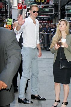 "Alexander Skarsgård on ""Good Morning America"""