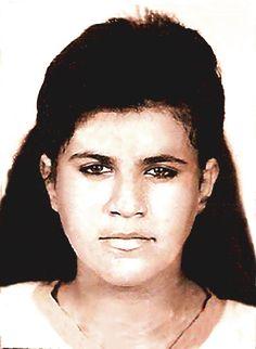 "Rodriane Mafra - ""Vó Te Amo Muito"" - Rodri, 1992. Foto encontrada na carteira da Vó Maria - Família Mafra"