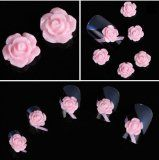 350buy 20pcs 3D Pink Little Rose Flower with Rhinestones Nail Art Decoration - #nails #nailart #nailtools #nailartaccessories - Instructions: Can be used with nail polish, UV gel or acrylic nail, etc. Clean the surface of your nails, brus
