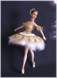Ballerina Tristesse Doll Clothes Barbie, Vintage Barbie Dolls, Barbie Dress, Ballerina Barbie, Crochet Barbie Patterns, Red Hair Woman, Poppy Parker, Beautiful Barbie Dolls, Barbie Collection