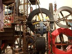 Jean Tinguely kinetic sculpture