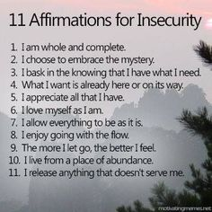 "It's easy to get caught up in irrational F.R (false evidence appearing real). These affirmations are designed to help us release the subconscious programming that makes up these ""what if?"" worst case scenarios so that we don't let our minds get in the Affirmations Positives, Morning Affirmations, Daily Affirmations, Positive Affirmations For Anxiety, Affirmations Success, Positive Thoughts, Positive Vibes, 3am Thoughts, Morning Thoughts"