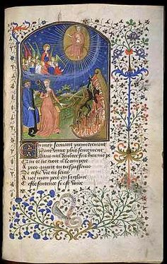 Illuminated manuscript. Probably one of the most beautiful pieces of art on the planet. :)