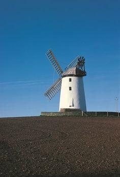 Ballycopeland windmill, Ards Peninsula, County Down, Northern Ireland.