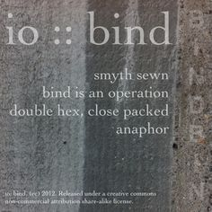 io :: bind :: back cover