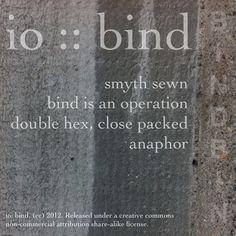io :: bind :: back cover