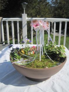 May Day Fairy Garden