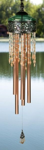 Beautiful Wind chime No matter how beautiful, in Feng Shui, the sound of the chimes is important.should be soothing and harmonic.