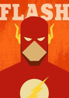 Poster The Flash / The Flash / Superhero Flash / Flash Print / Minimalist Flash / Art Flash / Comics Poster / The Flash Gift Batman Poster, Superhero Poster, Comic Poster, Poster Poster, Flash Comics, Arte Dc Comics, Vintage Comics, Vintage Posters, Flash Superhero