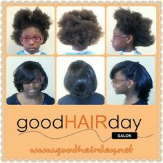 Natural,  keratin treatment, healthy hair   Relaxed Styles, Natural Styles, Keratin Treatments, Custom Color, Precision Cuts, Book online!  www.goodhairday.net