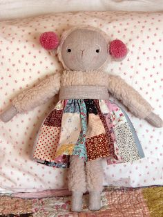 Little Lamb by Alicia Paulson, pattern in the book I Heart Patchwork by Rashida Cole Haleman.