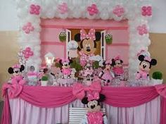 Resultado de imagem para imagens festa minnie rosa