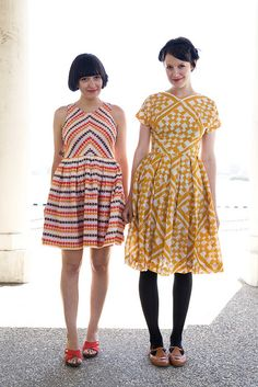 Like the yellow one. calivintage: red, yellow, and bleu by calivintage, via Flickr