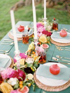summer wedding palette