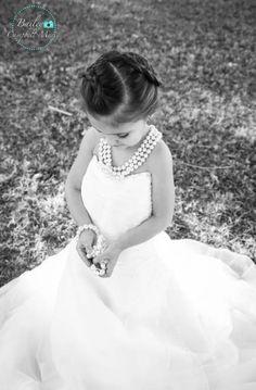 Dress Wedding Kids Little Girls Children Ideas - - Besbelli Little Girl Wedding Dresses, Baby In Wedding Dress, Wedding Dress Pictures, Wedding Dresses Photos, Wedding With Kids, Elegant Wedding Dress, Wedding Pics, Designer Wedding Dresses, Flower Girl Dresses