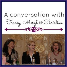 A conversation with Tracey, Meryl & Christine #TraceyUllman #Merylstreep #ChrsitineBaranksi #Intothewoods #disney