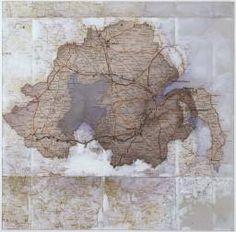 Rita Donagh 'shadow of six counties (c)', 1980 © Rita Donagh