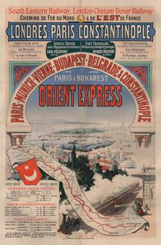 The Orient Express, a luxury train service connecting Paris to Constantinople, was the figurehead of the Belle Époque, and remained closely connected to...