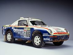 Porsche 959 Raid. I know that (in hindsight) it made sense. But what vision. And daring. A 959 off-road. Brilliant.
