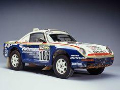 Porsche 959 Turbo 4x4 Dakar Winner.