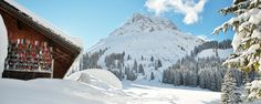 Dreamy winter, perfect for skiing