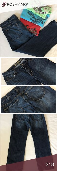 "Old navy straight 36/32"" In great shape Old Navy Jeans Straight"
