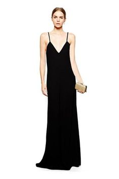 The maxi spaghetti dress with low scoop back is made of a soft fabric, and the whole design show a sexy.It is suitable for party.