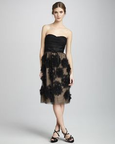 Brittany Floral-Chiffon Dress by Robert Rodriguez at Last Call by Neiman Marcus.