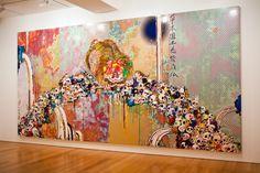 "my favorite murakami of all time... Takashi Murakami ""Flowers & Skulls"" Exhibition @ Gagosian Gallery Hong Kong Recap | Hypebeast"