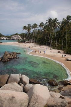 Cañaveral Beach at Tayrona National Park  - Santa Marta, Colombia