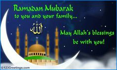 Ramadan mubarak