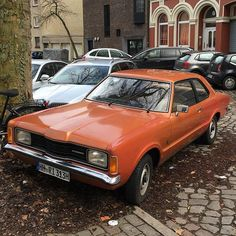 """""""Cold late night, so long ago...When I was not so strong, you know...A pretty man came to me...Never seen eyes so blue...""""✨#ford #taunus #fordtaunus #carspotting #carsofinstagram #70s #hamburgerecken #welovehh #hamburg #hh #hamburgmeineperle #carporn #caroftheday #ig_hamburg #2k16"""