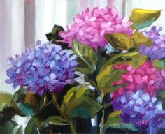 """Daily Paintworks - """"On the Vineyard"""" - Original Fine Art for Sale - © Libby Anderson"""