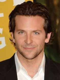 How appropriate to put Bradley Cooper on my Wish List board.  ;)