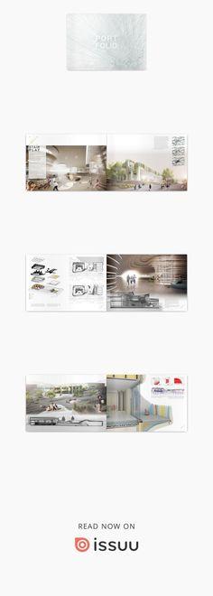 ARCHITECTURE PORTFOLIO Fabian Huebner  Architecture Portfolio