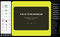 TWIN PHENOMENA. VIDEOGAME made by arenas basabe palacios