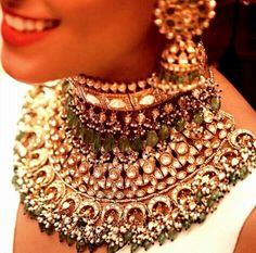 Love this necklace by Kishanda and Co. for Sabyasachi | #indianjewelry | #jewelry