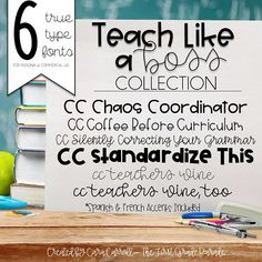 Cara Carroll Fonts: Teach Like a Boss Collection Primary Teaching, Primary Classroom, Teaching Activities, Hands On Activities, Future Classroom, Fun Learning, Classroom Ideas, Teaching Ideas, First Grade Parade