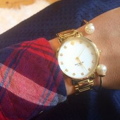 #watch #fashion #jewelry #sponsored #cute #gold #armparty
