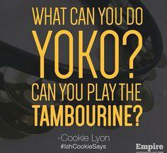 Yoko...Haha #Empire #TeamCookie  cookies a bosssssss