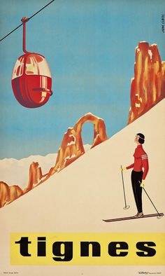 Skis Alone Vintage ski sport poster' Photographic Print by Glimmersmith She Skis Alone, Vintage ski sport poster art by GlimmersmithShe Skis Alone, Vintage ski sport poster art by Glimmersmith Ski Vintage, Vintage Ski Posters, Retro Poster, Photo Vintage, French Vintage, Vintage Sport, Sale Poster, Poster On, Old Posters