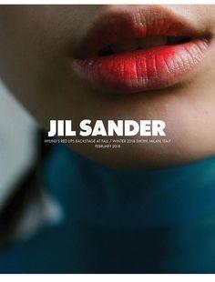 Mouth, Jil Sander makeup, fashion